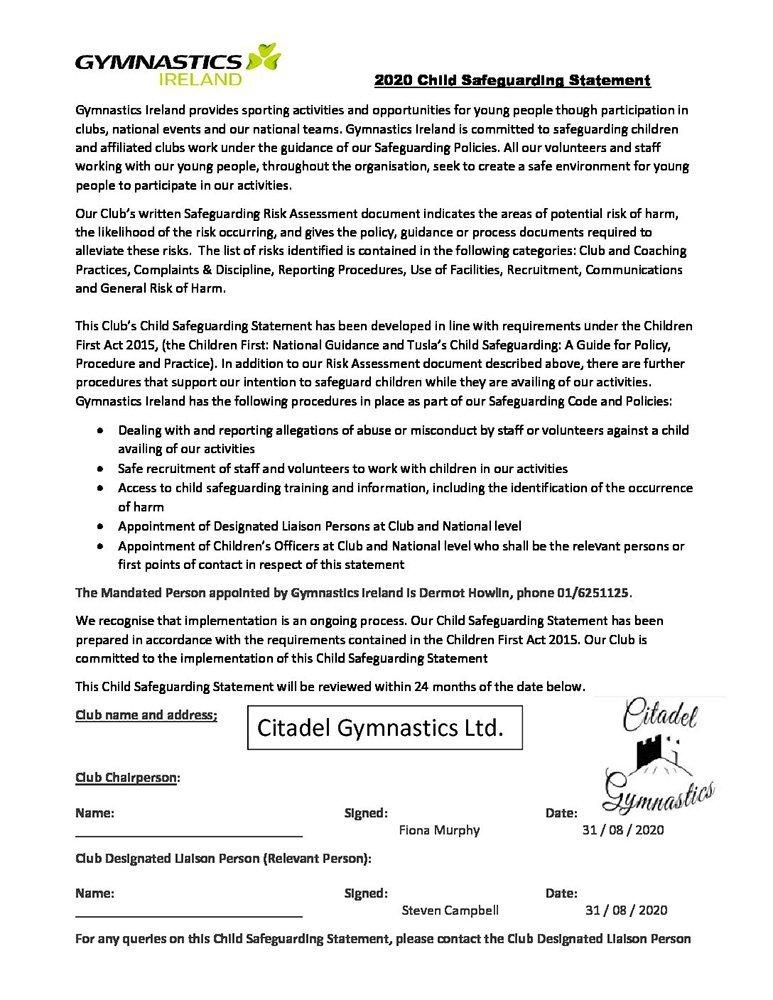 Citadel-safeguarding-statement-2020