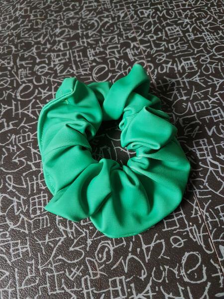 Hair-Scrunchie-Single-Green-Citadel-Gymnastics-Donegal